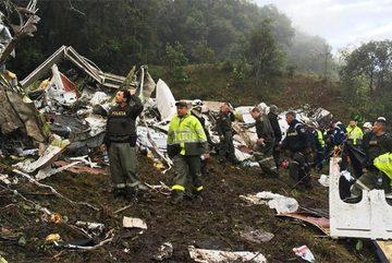 Rơi máy bay thảm khốc ở Colombia