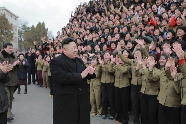 Kim Jong Un,Triều Tiên,phóng tên lửa,ảnh vệ tinh