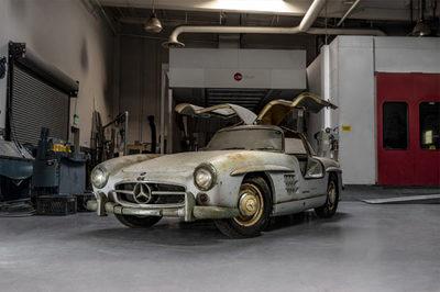 Xe cổ Mercedes-Benz triệu đô có số khung, số máy hiếm có