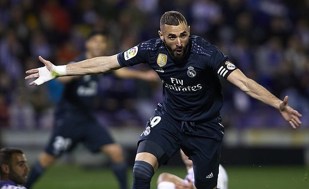 Valladolid,Real Madrid,Benzema