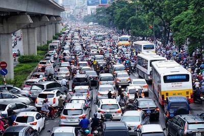 Điều chỉnh hàng loạt tuyến buýt trùng lộ trình đường sắt Cát Linh-Hà Đông