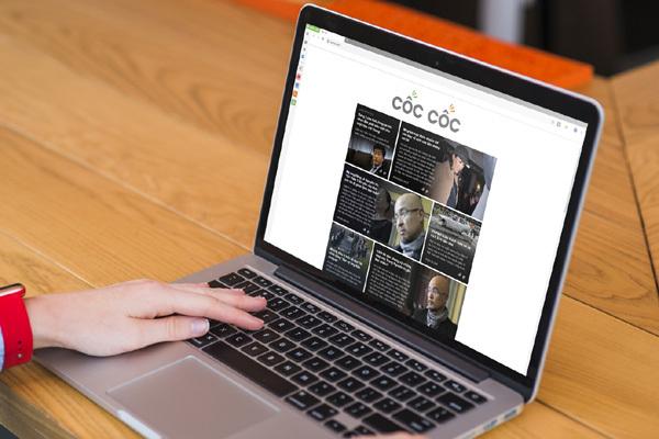 Trang chủ Cốc Cốc mới giúp cá nhân hóa nội dung người dùng