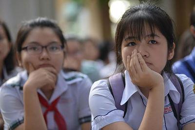 35.000 học sinh lớp 9 ở TP.HCM sẽ không có chỗ học lớp 10 công lập