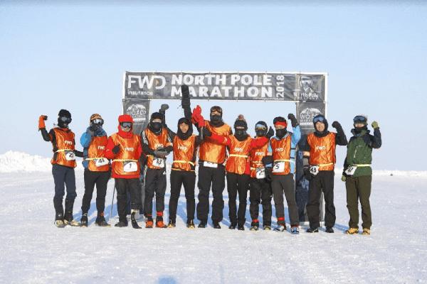 Marathon Bắc Cực,đại diện Việt Nam,Phan Thanh Nhiên