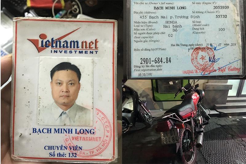 Hà Nội: Người giả danh phóng viên báo VietNamNet bị 'sa lưới' 141
