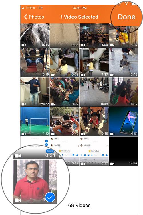 Cách trích xuất file mp3 từ video trên iPhone và iPad