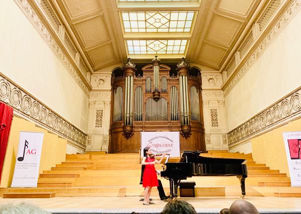 Học trò Bùi Công Duy đạt giải nhất cuộc thi violin quốc tế