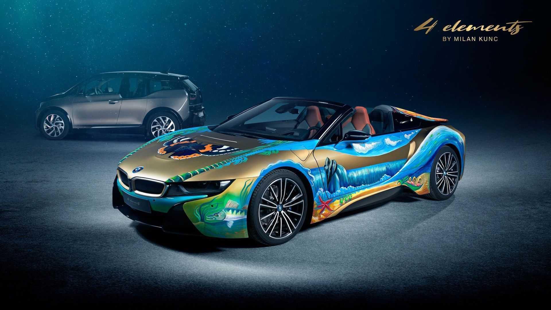 BMW i8,BMW i8 Roadster,độ xe,độ BMW,BMW thay áo