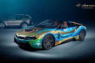 """Siêu xe BMW i8 Roadster khoác """"bộ áo"""" môi trường cực độc"""