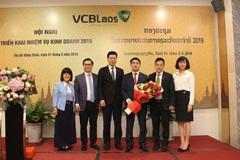 Vietcombank Lào tổ chức Hội nghị triển khai nhiệm vụ kinh doanh 2019