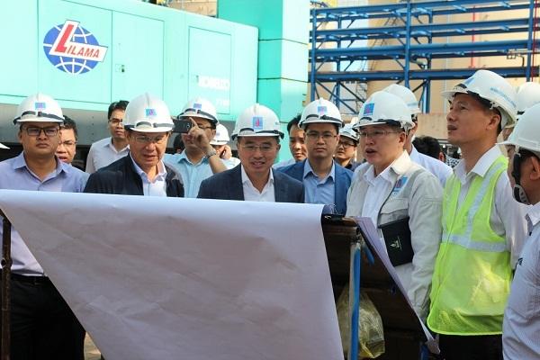Công trường Nhiệt điện Thái Bình 2 sôi động trở lại