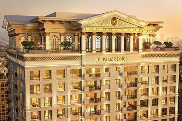 10 năm để hoàn thiện D'. Palais Louis