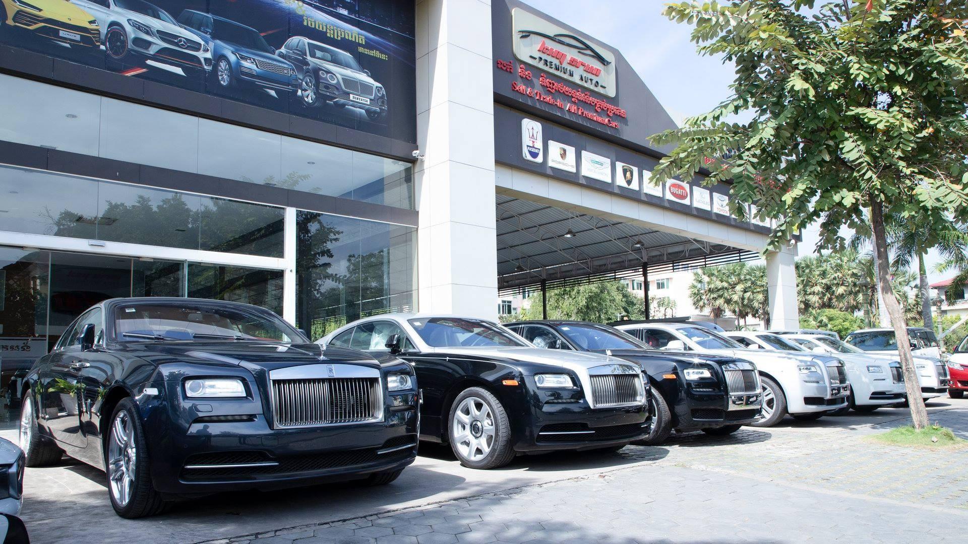Showroom siêu xe triệu USD Campuchia khiến giới nhà giàu Việt phát thèm