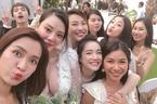 Nhã Phương rạng rỡ trong đám cưới bạn thân sau tin đồn sinh con gái cho Trường Giang