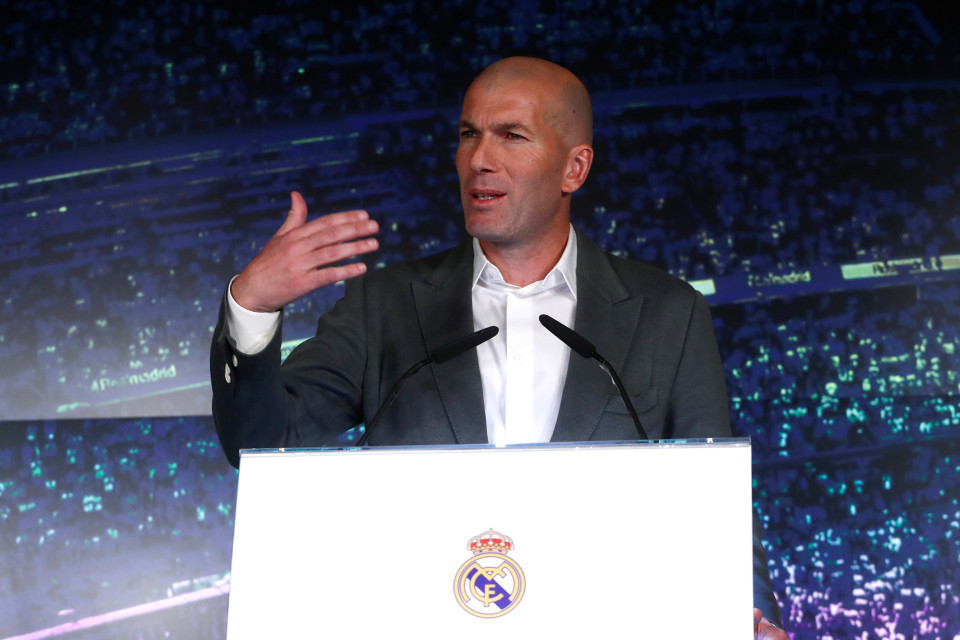 Zidane,Real Madrid