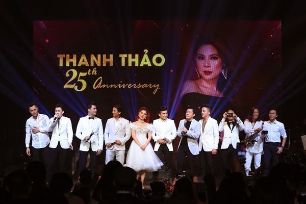 Thanh Thảo nồng nàn bên tình cũ Quang Dũng trong liveshow 5 tỷ