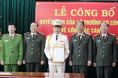 Bộ Công an, VKSNDTC bổ nhiệm nhân sự mới