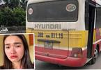 Nữ hành khách bị đánh giập mũi vì quay clip xe buýt lạng lách