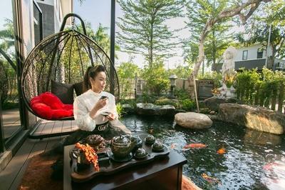 Biệt thự hơn 200 m2 ở Sài Gòn của Nhật Kim Anh