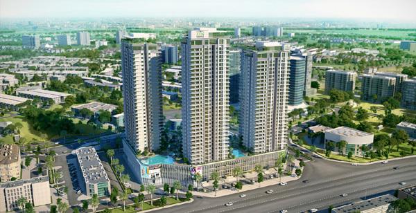 Khu căn hộ tầm trung tốt nhất Hà Nội- dấu ấn Gamuda Land