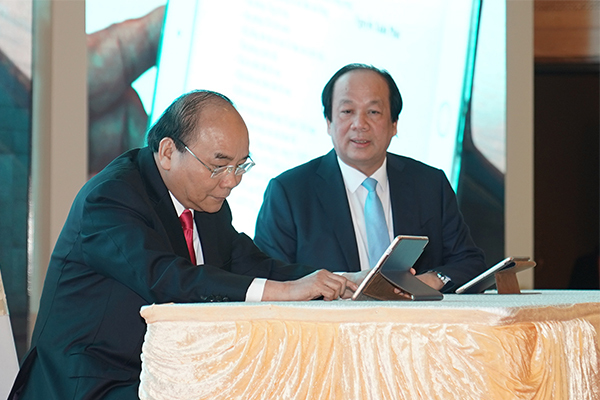 Thủ tướng,Nguyễn Xuân Phúc,chữ ký số,Bộ trưởng Mai Tiến Dũng
