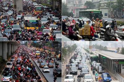 Đường Nguyễn Trãi, Lê Văn Lương tắc cỡ nào mà cấm xe máy?