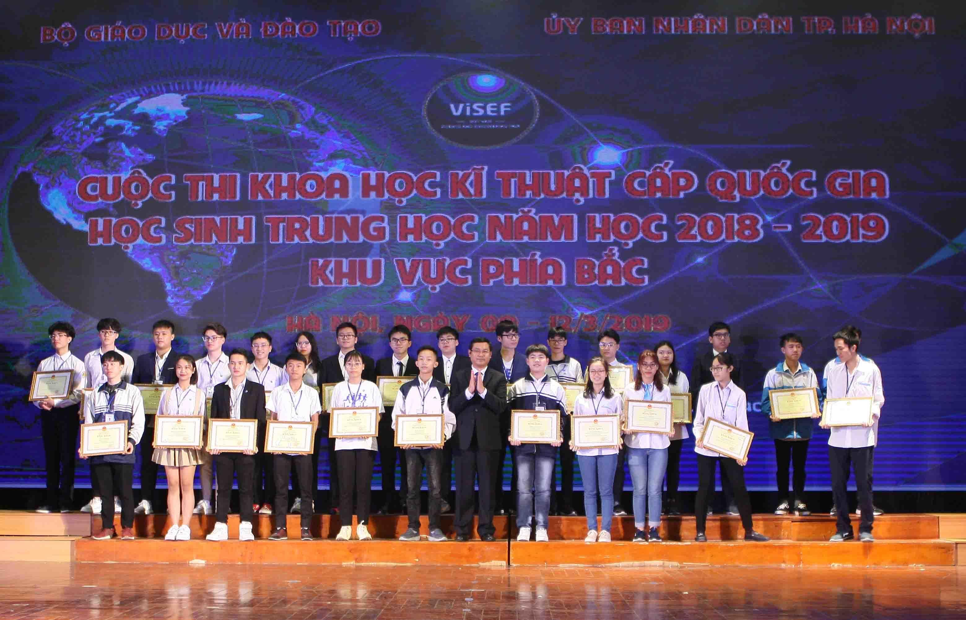 Học sinh Lào Cai dẫn đầu về số dự án đạt giải Nhất khoa học kỹ thuật 2019