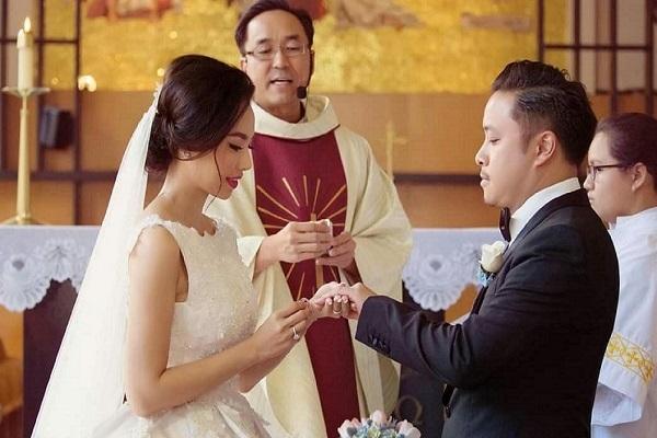 Đinh Ngọc Diệp sống 'như ở thiên đàng' sau 3 năm kết hôn với Victor Vũ