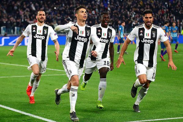 Juventus vào tứ kết: Mồ hôi, máu và trái tim Ronaldo