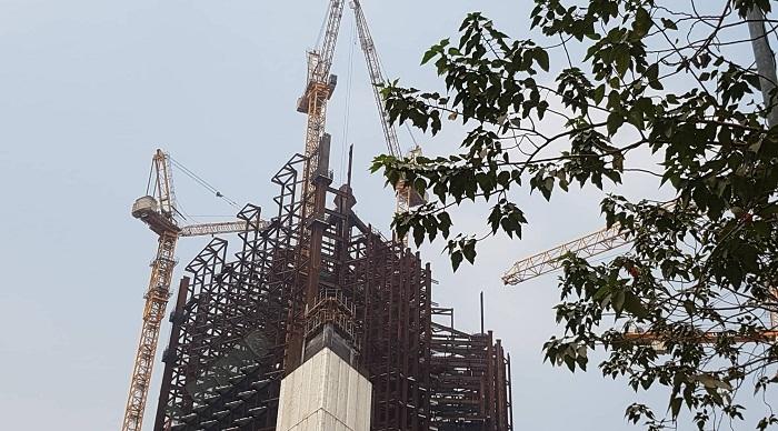 Tháp đôi 10.000 tỷ giữa lòng thủ đô: Gần thập kỷ vẫn chờ