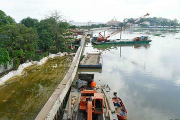 Chủ tịch Bình Dương yêu cầu kiểm tra dự án lấn sông Sài Gòn