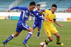 SLNA đấu HAGL ở bán kết giải U19 Quốc gia