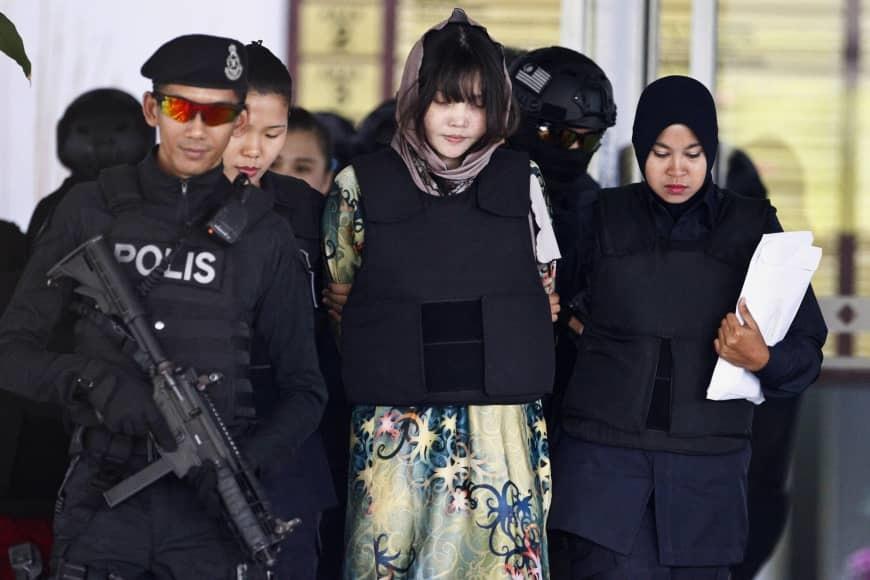 Đoàn Thị Hương,Kim Jong Nam,Kim Jong Nam bị giết,anh trai Kim Jong Un