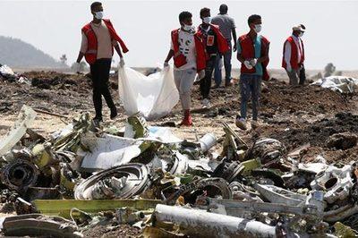 Phút cuối đầy bất thường của máy bay Ethiopia xấu số