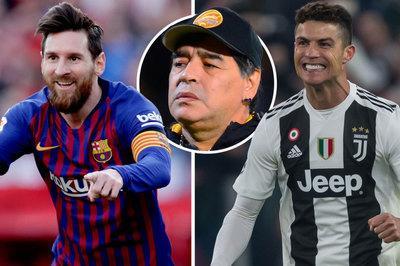 Maradona: Ronaldo là con quái vật