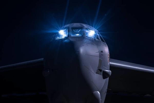 Máy bay ném bom Mỹ bay tuần tra trên Biển Đông