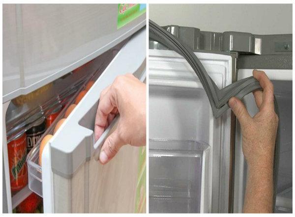 Gioăng tủ lạnh bị hở - cách sửa tại nhà đơn giản tránh mất tiền oan