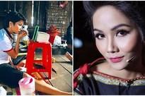 Hết Vũ Ngọc Anh giờ đến H'Hen Niê cũng bị nhà thiết kế nước ngoài tố thẳng mặt là 'Hoa hậu Việt Nam mặc váy nhái'