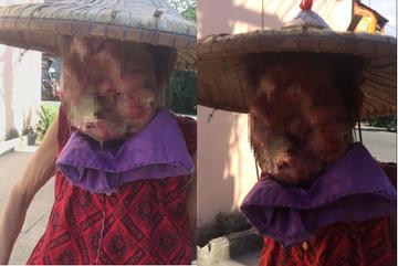 Ám ảnh người phụ nữ có khuôn mặt quỷ, phải ngủ với chó