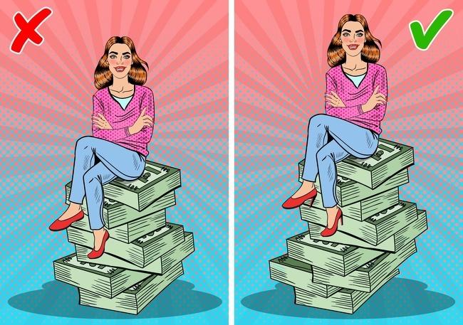 9 suy nghĩ sai lầm khiến bạn không thể giàu