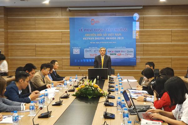 Phát động bình chọn Giải thưởng Chuyển đổi số Việt Nam 2019