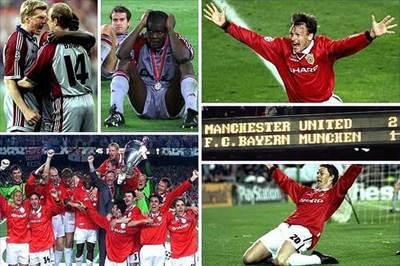 MU 1999 tái đấu Bayern, Barca sợ gặp Man City và Juventus