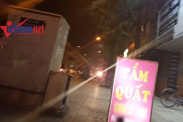 Chuyện lúc 0 giờ trong quán tẩm quất trá hình ở Hà Nội