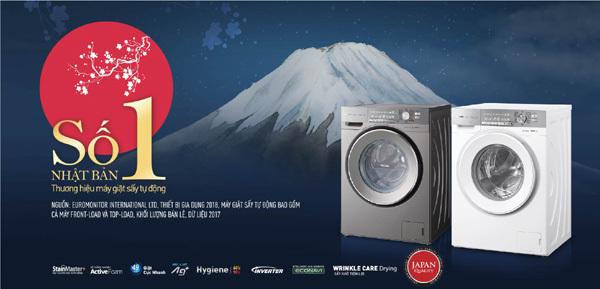 chọn máy giặt,kiểu Nhật