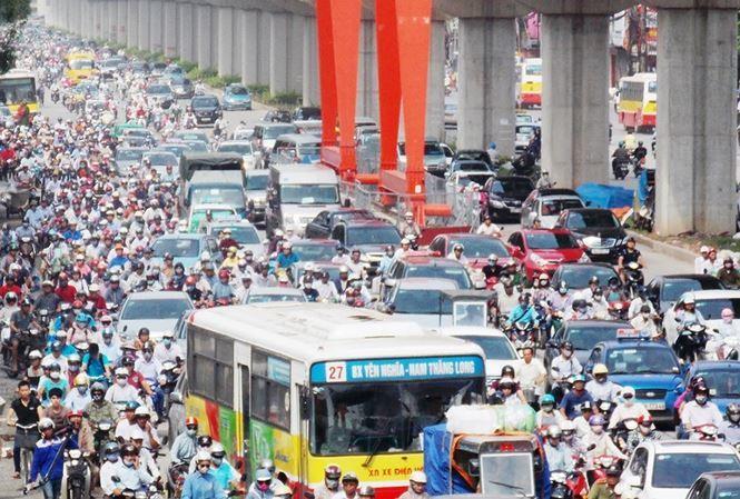 cấm xe máy,xe máy,đường sắt đô thị,tắc đường,ô nhiễm môi trường,Sở Giao thông vận tải Hà Nội,Hà Nội