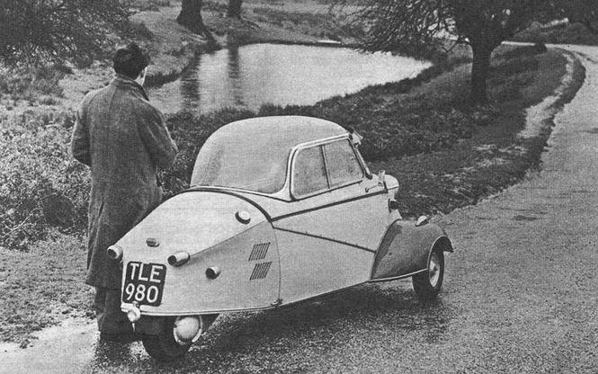 Thú vị những ôtô có dung tích động cơ siêu nhỏ, chưa đến 0,5 lít