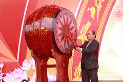 Thủ tướng đánh trống khai mạc hội báo toàn quốc 2019