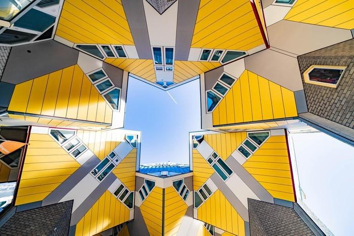 Nét đẹp hài hòa giữa kiến trúc tương lai và dấu ấn xưa cũ ở Hà Lan