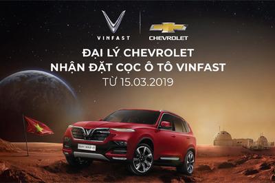 Đại lý Chevrolet bắt đầu nhận đặt cọc ô tô VinFast