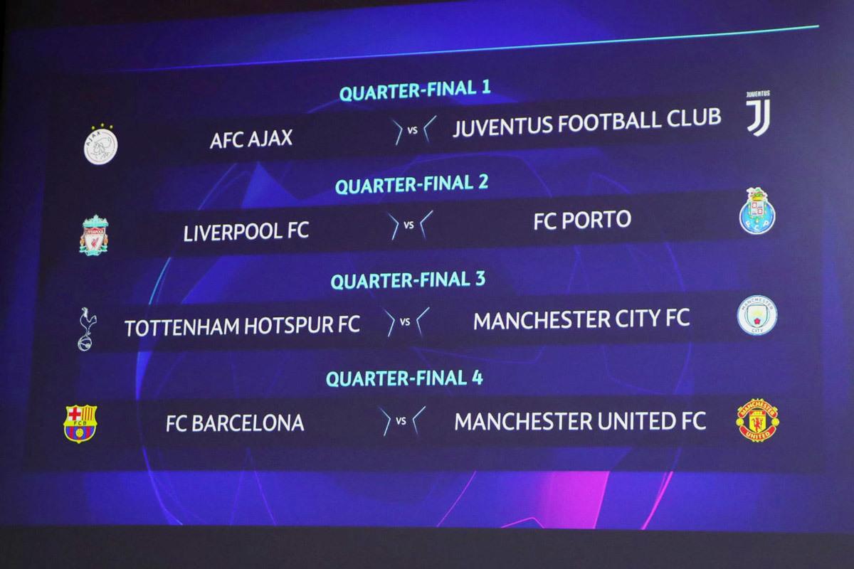 Tứ kết C1: MU đấu Barca, chờ chung kết Messi vs Ronaldo